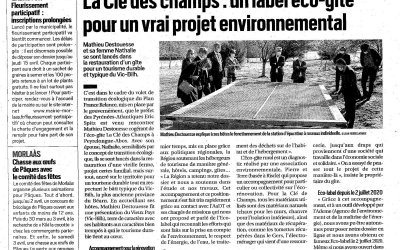 Le préfet des Pyrénées-Atlantiques visite la Clé des champs